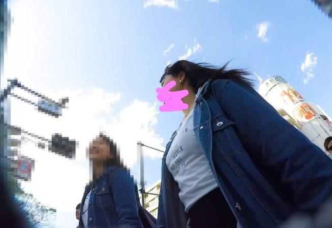 Inked【HD顔出し023】私服JKの大胆ポーズをパンチラ撮影。01 - コピー_LI - コピー