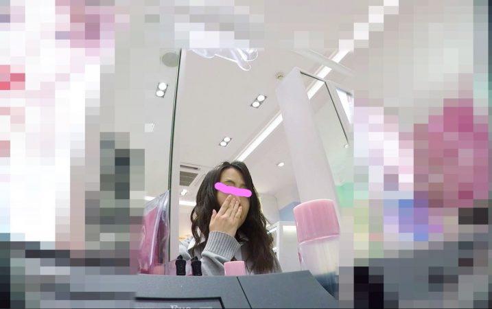 【HD顔出しJK007】モデルのスカウトも無視!!お色気JKのプリント白P01 - コピー