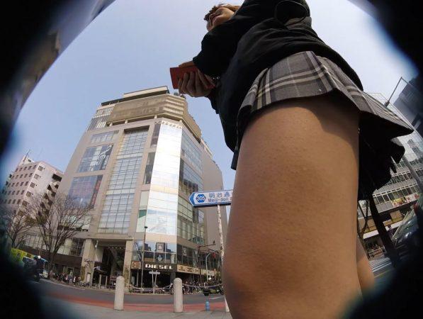 【HD顔出しJK 003】道聞きフロント撮り!前から後ろから…執拗撮り10 - コピー