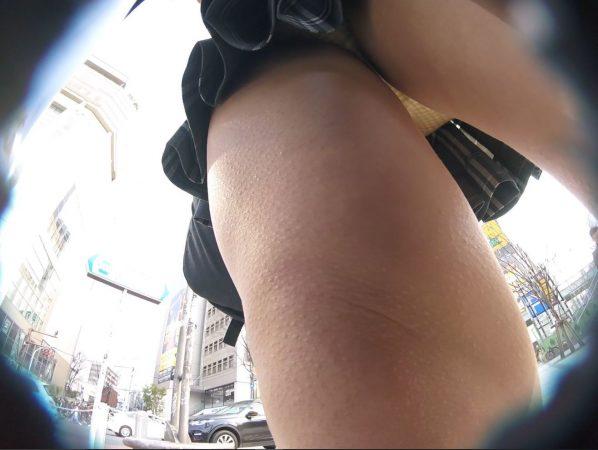 【HD顔出しJK 003】道聞きフロント撮り!前から後ろから…執拗撮り11 - コピー