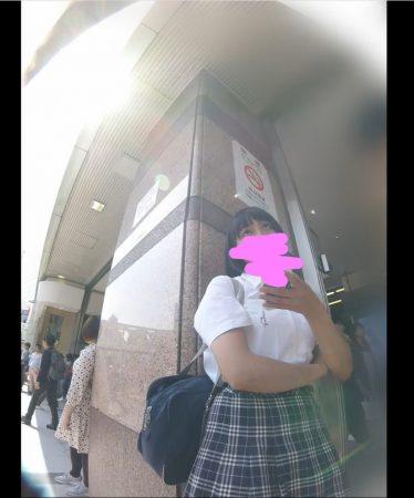 【HD顔出しJK 001】彼氏とおしゃべり中JK純白おパンツ 盗撮された…最悪00 - コピー