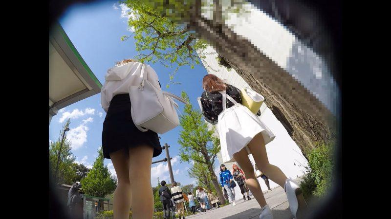 【顔出し私服3】不審者を見る鋭い目線。&親友に会いたくてウキウキの私服JKちゃん10 - コピー