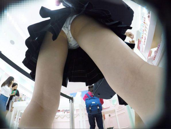 【顔出しJK9】こっちをチラ見してくる化粧品大好き娘。恥ずかしい汚パンツ。【声かけ】9 - コピー