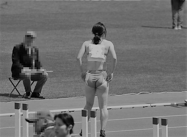 陸上美女アスリート写真集1(100mH)2