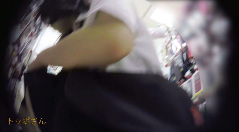 PcolleGcolleレビュートッポさん[制服JK]スマホアクセ売場のJKが可愛いうえにエッチな下着でノックアウト8