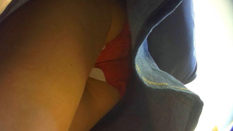 PcolleGcolleレビューコロコロ【羽付】子連れ人妻パンチラ逆さ撮り01-11