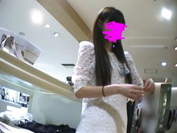 PcolleGcolleレビューMr研修生79 美人モデル店員さん 薄ピンクTバック2