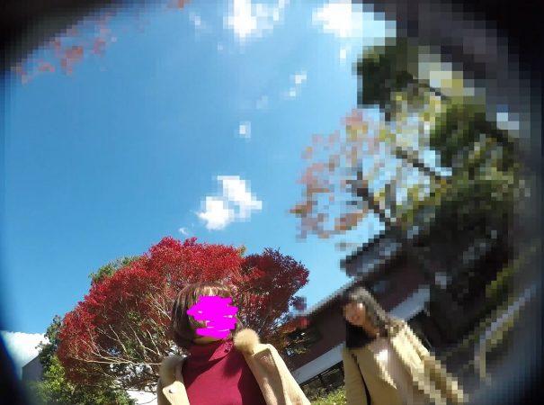 PcolleGcolleレビュー盗 撮方法みみっく【顔出し私服6】有名大学潜入!キャンパスライフを真下から。【声かけ】1
