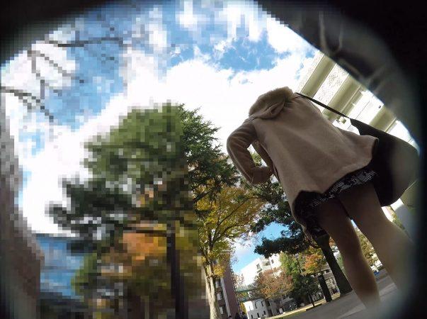 PcolleGcolleレビュー盗 撮方法みみっく【顔出し私服6】有名大学潜入!キャンパスライフを真下から。【声かけ】2