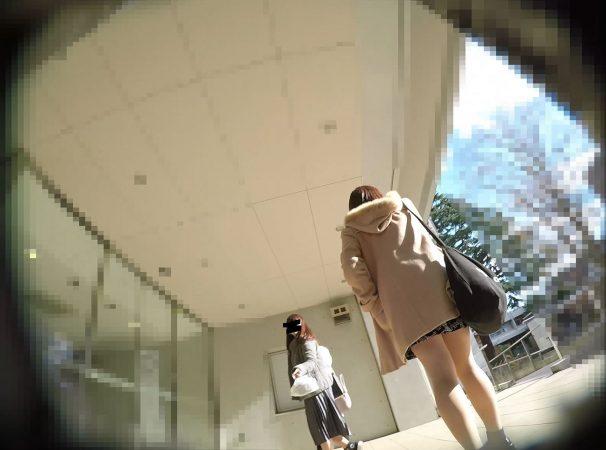 PcolleGcolleレビュー盗 撮方法みみっく【顔出し私服6】有名大学潜入!キャンパスライフを真下から。【声かけ】4