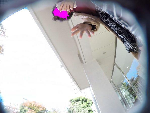 PcolleGcolleレビュー盗 撮方法みみっく【顔出し私服6】有名大学潜入!キャンパスライフを真下から。【声かけ】13