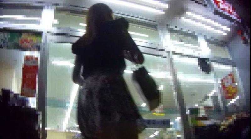 PcolleGcolleレビューコロコロキャバ嬢パンチラ逆さ撮り01-3