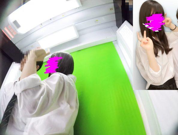 PcolleGcolleレビューみみっく【顔出しJK21】プリクラモデルデビュー。ゆるふわ可愛いアイドル系JKのおパンツ撮り放題。スマホ直撮りも【声かけ】5