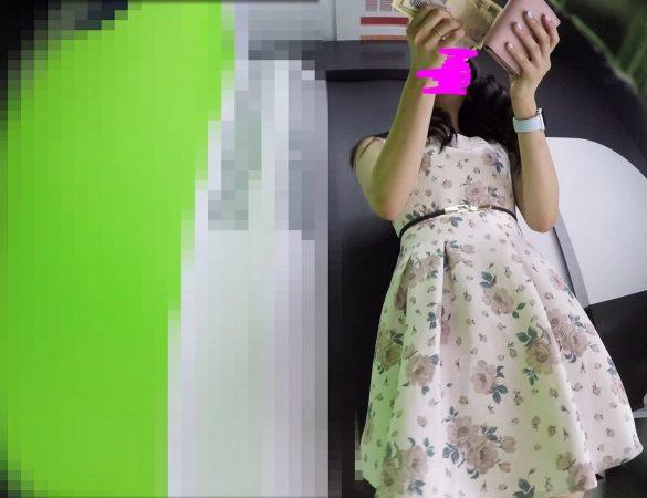 PcolleGcolleレビューみみっく【顔出し私服7】プリクラで激カワお嬢様JDのピンクPを好き放題覗く。2カメ体制&ラクガキ中直撮り【声かけ】12