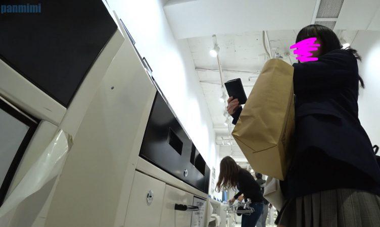 PcolleGcolleレビューぱんの耳[HD60fps]JKお裾分けvol45-12