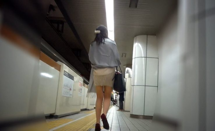 PcolleGcolleレビューナイト係長【電車対面パンチラ⑤】☆三角ゾーン観察記録2