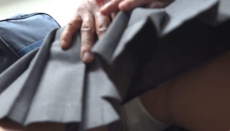 pcolleレビューGcolleゆず故障【電車痴〇】顔出し制服JK★超可憐な黒髪美少女の膣口に鬼畜の生チ○コねじ込み★最後はついに中出し!★射精後は失禁が止まらない!4