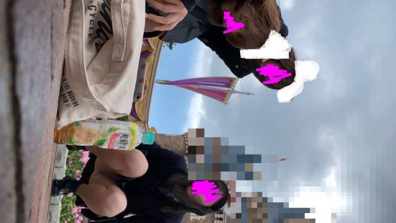 PcolleレビューGcolleたぴおか#1 夢の国@あざと可愛い、アイドル系JKのお城前座りスト白P。11
