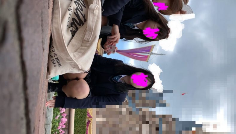 PcolleレビューGcolleたぴおか#1 夢の国@あざと可愛い、アイドル系JKのお城前座りスト白P。8