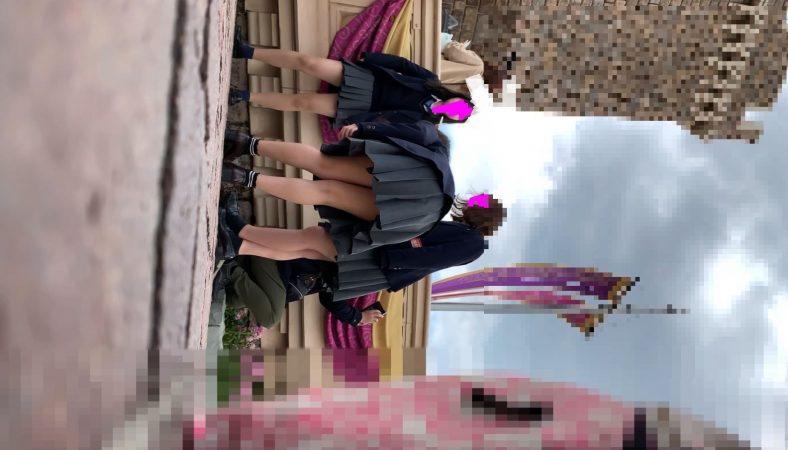 PcolleレビューGcolleたぴおか#1 夢の国@あざと可愛い、アイドル系JKのお城前座りスト白P。3