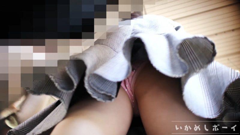 PcolleレビューGcolleいかめしボーイいかめし第一話 JK私服!めっかわ女子の水玉Pとハミ○を鮮明撮り!4