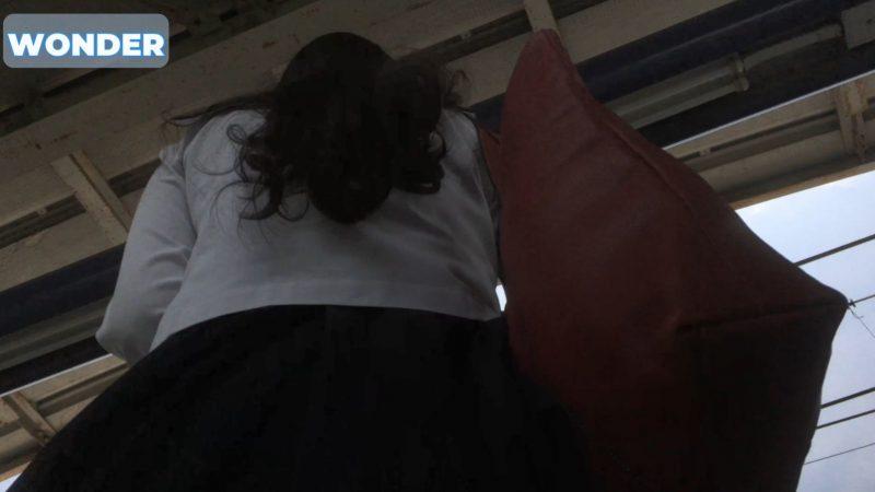 PcolleレビューGcolleWONDER【顔出しJK】ストーカー2日目で逃げられた31