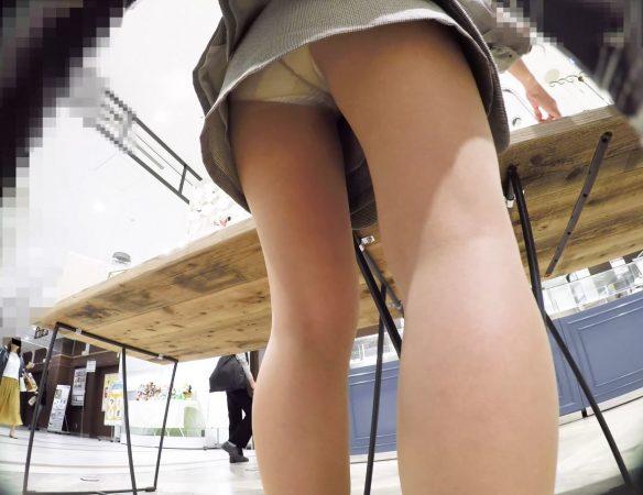 PcolleレビューGcolleみみっく【ショップ店員6】美人店員2連発。アクセ店スト白&ブランド店ピンク生P【声かけ】9