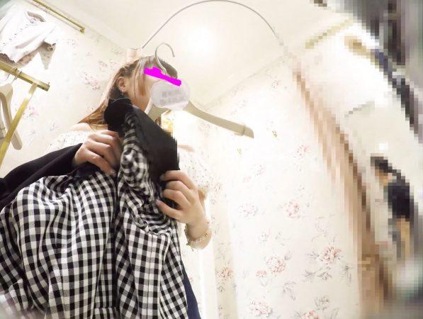 PcolleレビューGcolleみみっく【ショップ店員6】美人店員2連発。アクセ店スト白&ブランド店ピンク生P【声かけ】25