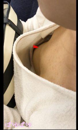 PcolleレビューGcolleぱゆぱゆ[胸チラ]上品な巨乳お嬢様の乳首[顔有]8