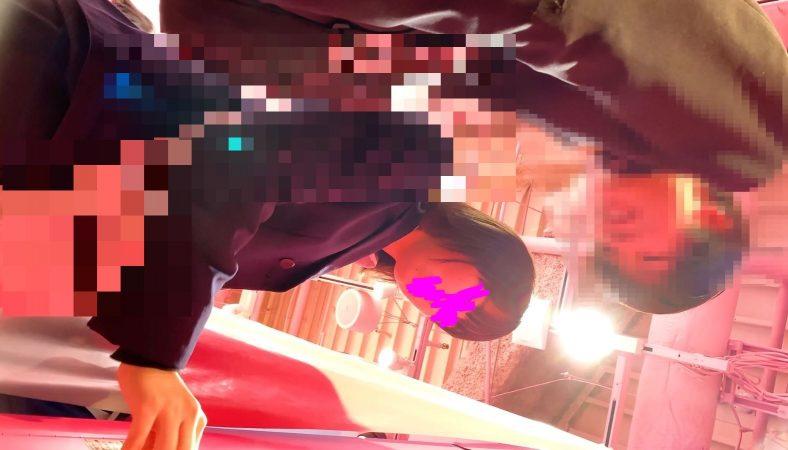 PcolleレビューGcolleたぴおか#7 夢の国×プリクラ@透明感がすごい超絶美少女。プリ撮影で花柄P逆さ撮り2カメ体制。11