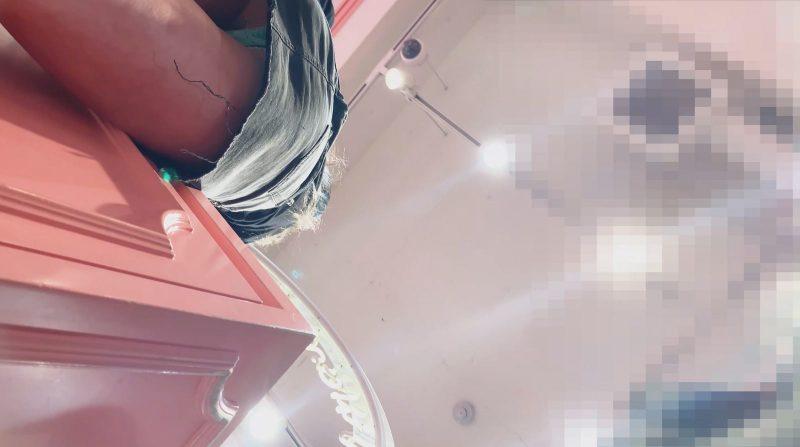 PcolleレビューGcolleたぴおか#10 エロギャルコスメ店員の超絶前屈み-21