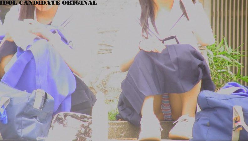 PcolleレビューGcolleアイドル予備軍制服Cちゃんの生スナップ-10