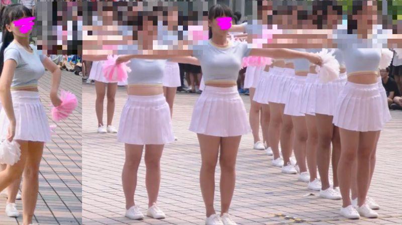 PcolleレビューGcollepaiman巨乳JKぷるるんダンス2