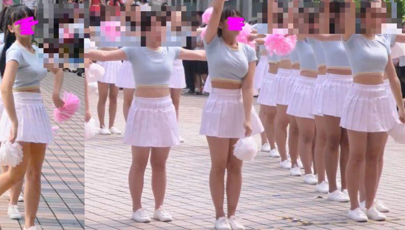 PcolleレビューGcollepaiman巨乳JKぷるるんダンス3