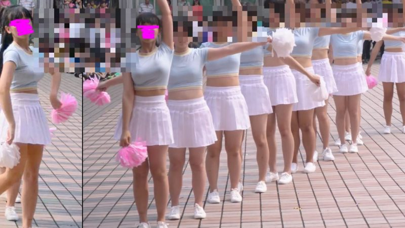 PcolleレビューGcollepaiman巨乳JKぷるるんダンス5
