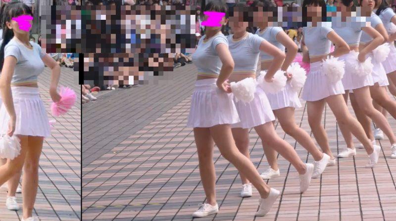 PcolleレビューGcollepaiman巨乳JKぷるるんダンス7