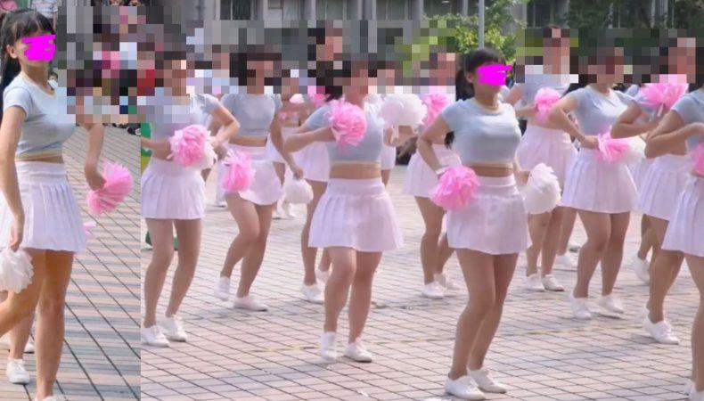 PcolleレビューGcollepaiman巨乳JKぷるるんダンス8