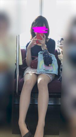 PcolleレビューGcolle感動の最終回【1020まで顔出し】アイドル級顔面お姉さんのスト越し白パンティ6