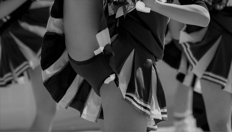 PcolleレビューGcolleアンスコ泥棒【写真高画質】チア8 有名青アンスコ超本格派!part3【Kの者】2