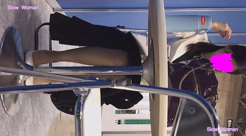 PcolleレビューGcolleSlow Woman【Pcolle限定再販】Legフェチ6コンパニオン【顔出】ヒール脱ぎ捨てストッキング丸出し!美脚揃い^ ^14