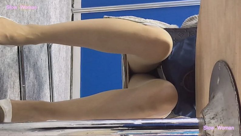 PcolleレビューGcolleSlow Woman【Pcolle限定再販】Legフェチ6コンパニオン【顔出】ヒール脱ぎ捨てストッキング丸出し!美脚揃い^ ^7