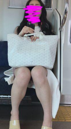 PcolleレビューGcolle感動の最終回【1117まで顔出し】モデル級美女の激ミニパンチラ2