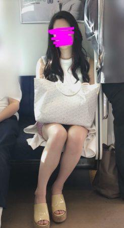 PcolleレビューGcolle感動の最終回【1117まで顔出し】モデル級美女の激ミニパンチラ3