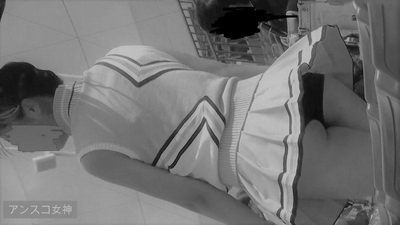 PcolleレビューGcolleアンスコ女神※P独占販売 【東京有名大学チア】アンスコ食い込み偏差値高すぎ…!3