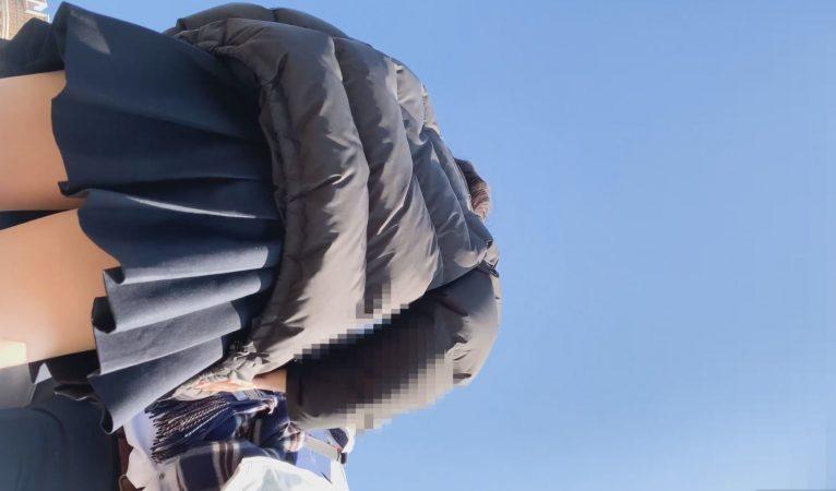 PcolleレビューGcolleパンチラたぴおか#17 夢の国@お城前でイチャイチャするJKのスカートの中見えっぱなし。撮影しながら声かけ4