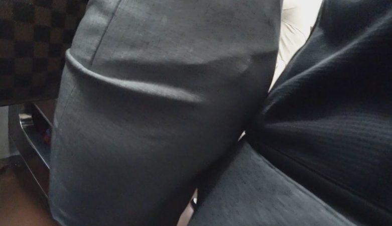 PcolleレビューGcolleパンチラヒップワン【OL痴 漢】タイスカ美人OLちゃんに押付け&お触り痴 漢!!深いバックスリットは痴 漢OKのサイン!?15