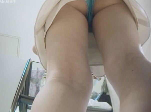 PcolleGcolleパンチラMr研修生126 超いい女店員さんのスカートの中を覗く動画36
