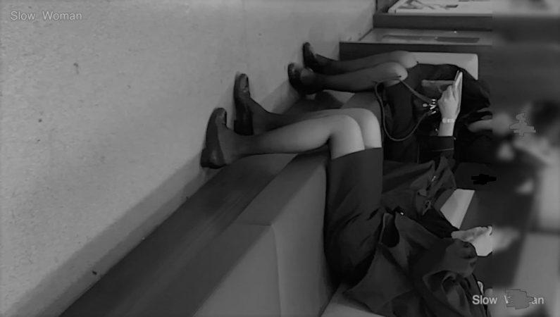 PcolleGcolleパンチラSlow Woman【Pcolle期間限定】魅惑のCAさんSP3☆遂に制服CAさんのパンチラGET!長身美尻で至福の悶絶^ ^-1