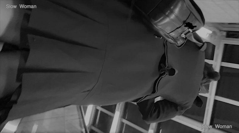 PcolleGcolleパンチラSlow Woman【Pcolle期間限定】魅惑のCAさんSP3☆遂に制服CAさんのパンチラGET!長身美尻で至福の悶絶^ ^-5