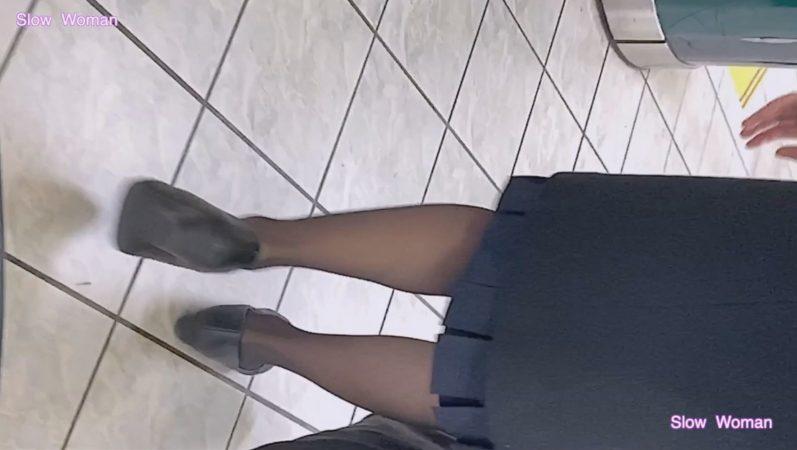 PcolleレビューgcolleパンチラSlow Woman【Pcolle期間限定】魅惑のCAさんSP4☆劇エロ状態!衝撃のパンスト伝線に悶絶^ ^2